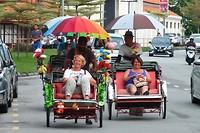 Georgetown per trishaw