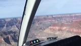 Onze helikopter vlucht boven de Grand Canyom