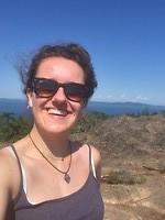 On top of Mount Douglas