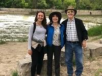 Met Karen en Larry