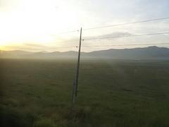 Zonsopgang bij Ulan Bataar