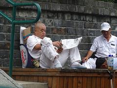 Even tijd voor de telefoon en de krant
