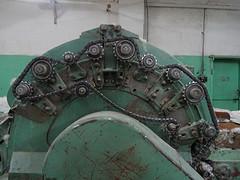 Machine in de kasjmierfabriek