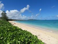 Witte stranden, blauwe zee :-)