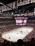 IJshockey wedstrijd