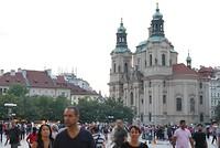 Op het oude stadsplein