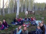 Girlsnight trailride