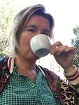 Koffie drinken en loslaten