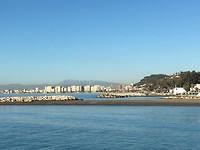 Malaga; fietsroute