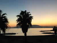 Malaga; zonsondergang 8