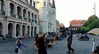 Muziek op straat New Orleans
