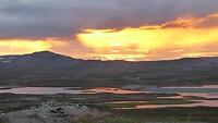 zonsondergang plateau Stekenjokk