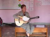 YES....gitaar en Engelse songs zingen