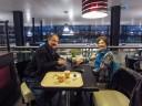 Anne & Ruud op Rotterdam Airport
