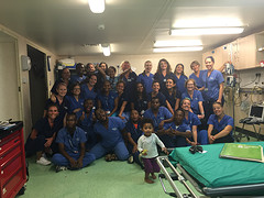 Afdeling A, verpleegkundigen en dagwerkers