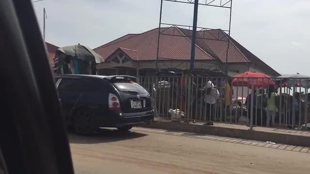 Reizen door Ghana - de markt!