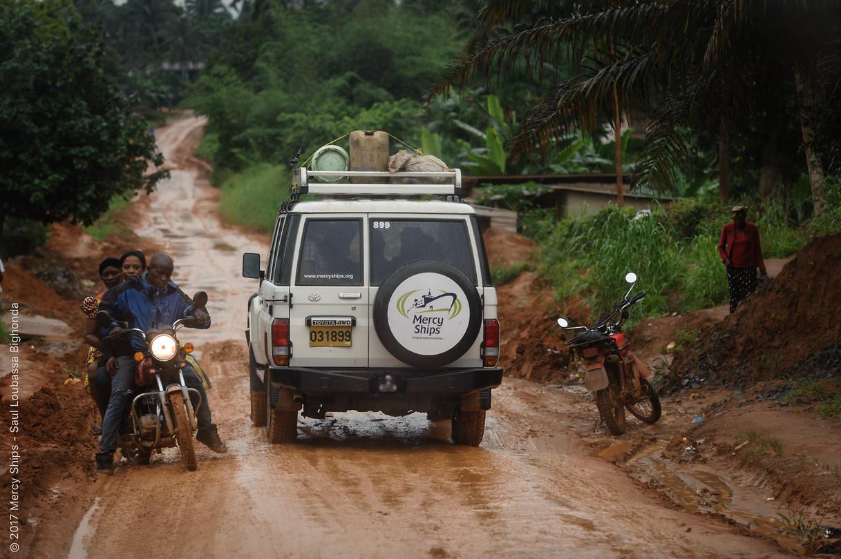 Rijden in Kameroen :)