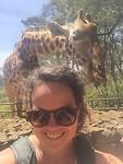 Giraffe-selfie :)