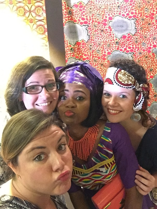 Afrikaanse stoffen mode show! Crew en daycrew!