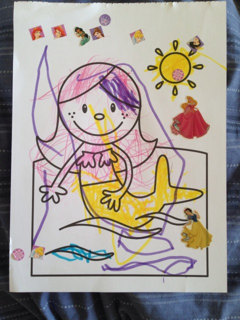 Een mooie tekening van mijn kleine meisje foto au pair reis - Een mooie kamer van een mooie meid ...