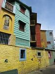 La Boca; vol met kleuren