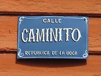 Calle Caminito in La Boca
