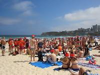 Bondi Beach, nieuwjaarsduik