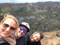 Easter island, Orongo, Rano Kau