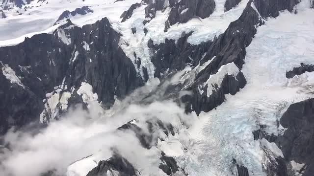 Gletsjers in Nieuw-Zeeland
