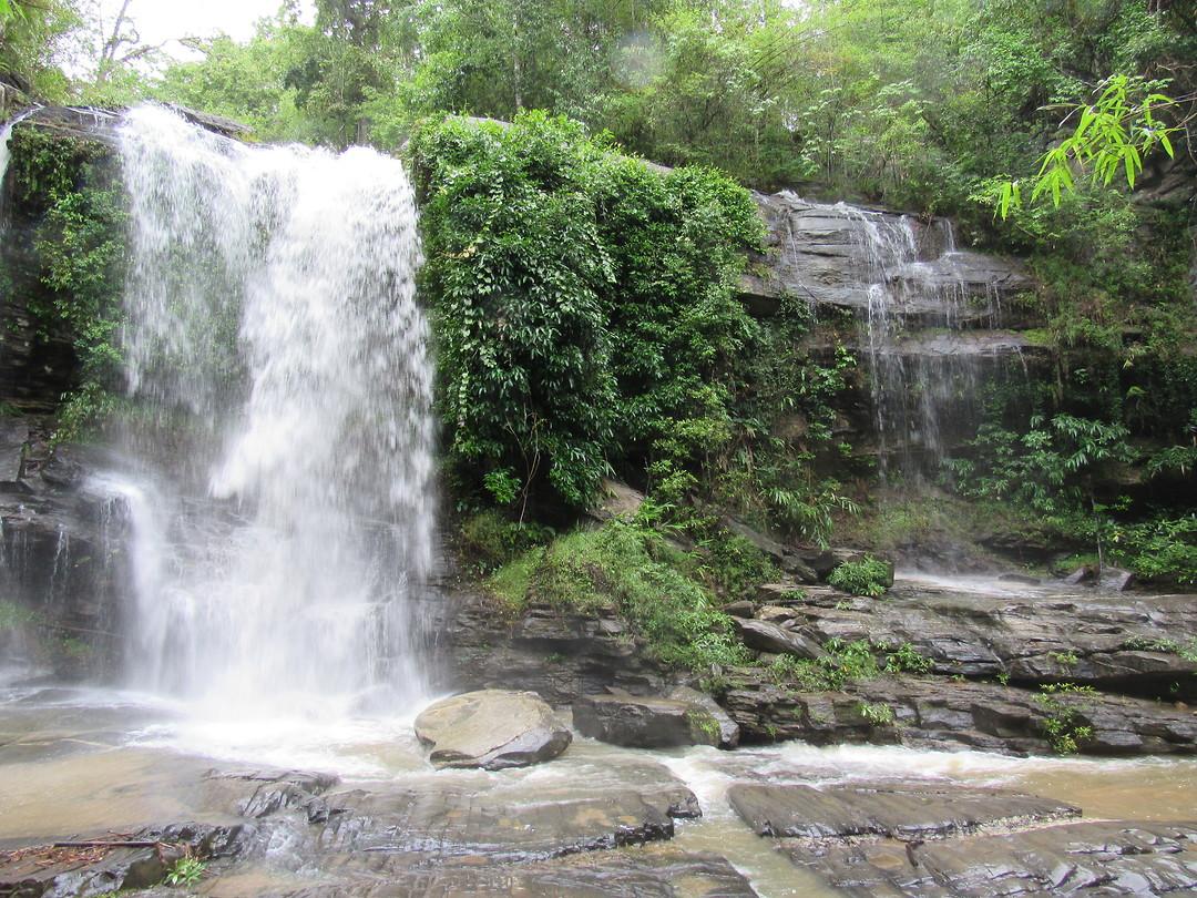 Waterval bij Chiang Mai