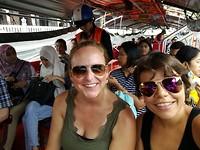 Op de boot in Bangkok