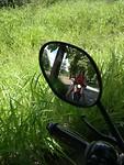 Op de scooter in Pai