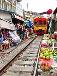Trainmarket in Bangkok