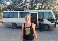 Busje van Belize naar Guatemala
