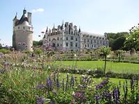Chenonceau - Het kasteel met de Tuin van Catharina (de Medici)