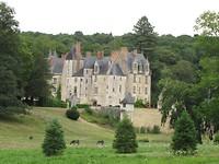 Courtanvaux - Het kasteel van Courtanvaux