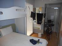 Hotelkamer Bazel IBIS BUDGET