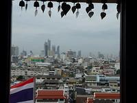 Bangkok vanaf golden mountain