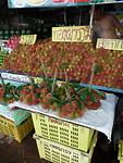 Vruchten op de markt, rambuttan