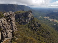 Grampians NP - uitzicht vanaf The Pinnacle