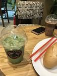 Rode bonen thee en mijn vegetarische broodje (staat gelijk aan leeg broodje🤪)