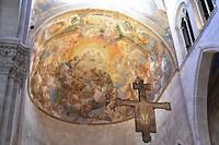 dakschildering Dom Lucca