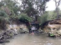 Lekker badderen in het hete water