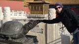 Seems that this turtle gives luck...hmmm, we'll see @ Forbidden city