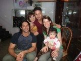 Family who loves us to pieces of our guesthouse in Thai Nguyen