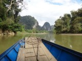 Boat trip through Ba Be NP