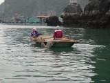 Floating village; Halong Bay