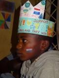Fans in Kenya