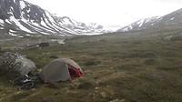 Camp in Grimsdalen