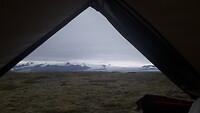 Uitzicht op de Vatnajökul